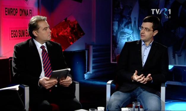 Ilarion Țiu, invitatul emisiunii Ciocnirea civilizațiilor (TVR 1) din 13 decembrie 2014